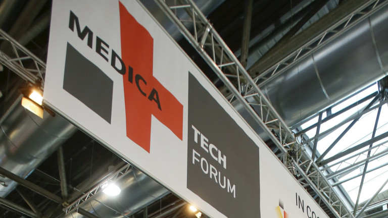 Düsseldorf, DEU, 18.11.2015. MEDICA 2015 – 16. - 19. November - World Forum for Medicine - TECH FORUM - Einen Schwerpunkt der weltgrössten Medizinmesse MEDICA bilden medizintechnische Geräte und Produkte. 2.425 Aussteller (insgesamt: 4.952) bieten Innovationen der Medizintechnik und Elektromedizin, z. B. bildgebende Verfahren. Gut 71.500 Fachbesucher der MEDICA interessieren sich speziell für diesen Angebotsbereich. http://www.medica.de --- Medical technology and electromedical equipment are high on demand at every MEDICA. 2,425 exhibitors are showcasing their latest innovations for this segment (for example solutions for medical imaging like ultrasound or endoskopy). 71,500 visitors of MEDICA are especially interested in this topic. http://www.medica-tradefair.com - Foto: Messe Düsseldorf, Constanze Tillmann. Exploitation right Messe Düsseldorf, M e s s e p l a t z, D-40474 D ü s s e l d o r f, www.messe-duesseldorf.de; eine h o n o r a r f r e i e  Nutzung des Bildes ist nur für journalistische Berichterstattung, bei vollständiger Namensnennung des Urhebers gem. Par. 13 UrhG (Foto: Messe Düsseldorf / ctillmann) und Beleg möglich; Verwendung ausserhalb journalistischer Zwecke nur nach schriftlicher Vereinbarung mit dem Urheber; soweit nicht ausdrücklich vermerkt werden keine Persönlichkeits-, Eigentums-, Kunst- oder Markenrechte eingeräumt. Die Einholung dieser Rechte obliegt dem Nutzer; Jede Weitergabe des Bildes an Dritte ohne  Genehmigung ist untersagt | Any usage and publication only for editorial use, commercial use and advertising only after agreement; unless otherwise stated: no Model release, property release or other third party rights available; royalty free only with mandatory credit: photo by Messe Duesseldorf]