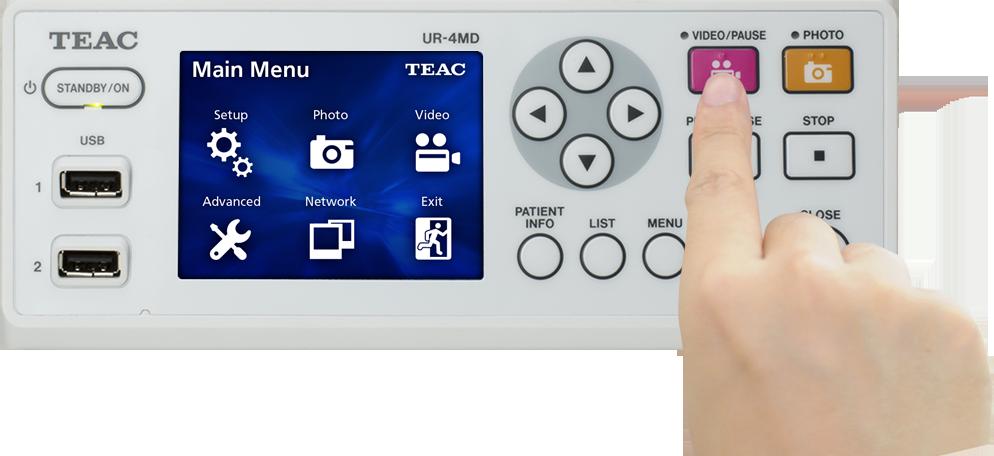 High-Definition Medical Imaging Recorder UR-4MD - Medical